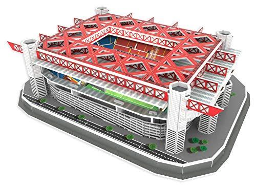 KARACTERMANIA Estadio de Nanostad, Puzzle 3D Stadio Giuseppe Meazza Standard Milano San Siro (39452), Multicolore, 1