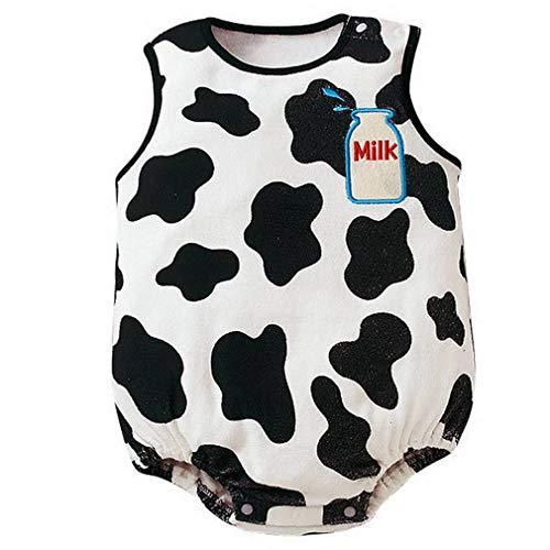 YiyiLai YiyiLai In-Outdoor Kind Neugeborene Junge Mädchen Kleidung Set Outfit Babykleidung Strampler Bodysuit Playsuit 90 Weiss