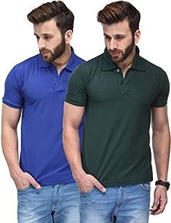T.N.X Men's Regular Fit T-Shirt Combo Pack of 2