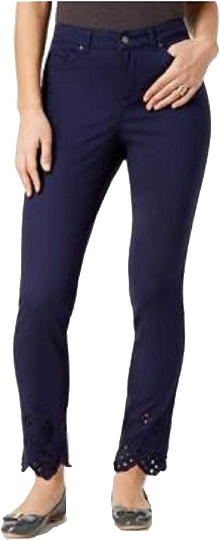 Charter Club Bristol Eyelet Ankle Skinny Jeans