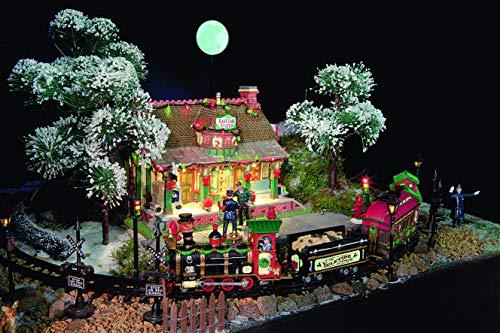 LEMAX - Straight Track For Christmas Express 34685 Schienen Weihnachtsdorf Winterdorf