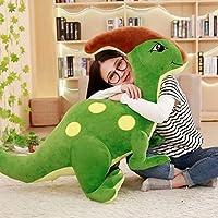 恐竜 95cm トリケラトプス ぬいぐるみ 人形 おもちゃ パラサウロロフス 大きい クマ縫い包み ふわふわな 可愛い 抱き枕 子供 女性 男の子 プレゼント クリエイティブ かわいい まくら 置物 店飾り お誕生日 クリスマス プレゼント 緑