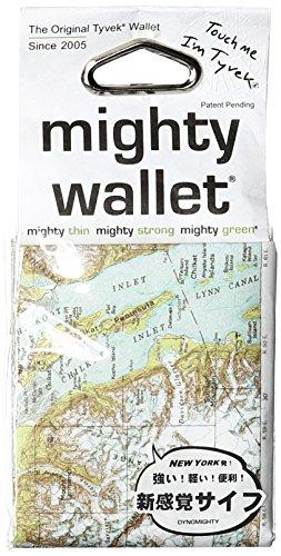 Mighty Herren Geldbörse NYC, Blau/Grün/Weiß/Grau-Explorer, Einheitsgröße