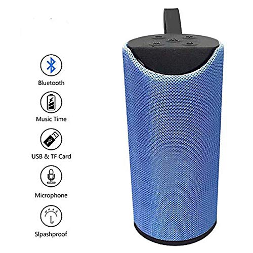 TG113 Explode Super Bass TG 113 High Volume Bluetooth Speakers (Blue)