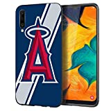Slim Fit Samsung Galaxy A50/A50S/A30S Case,Baseball Game Sports Thin Full Protection Matte Finish Grip Phone Cover Case for Samsung Galaxy A50 A50S A30S Black M043