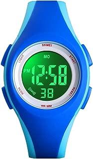 Kids Sports Digital Waterproof Watch, Boy's Girl's...