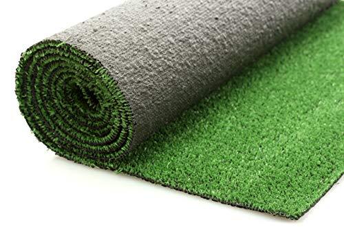 Césped artificial en rollos de 2 x 5m. 7 mm de grosor. Modelo Torino. Ideal para jardín y terraza. Varias medidas disponibles.