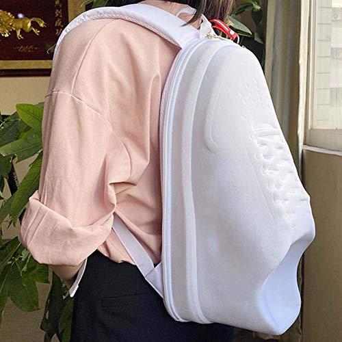 COOLBOY Mochila Extra Grande de 20L para Hombres, Mochila Personalizada en Forma de Zapatillas de Deporte para el Estudiante Universitario de la Escuela Viajes de Negocios, Cierre de Cremallera