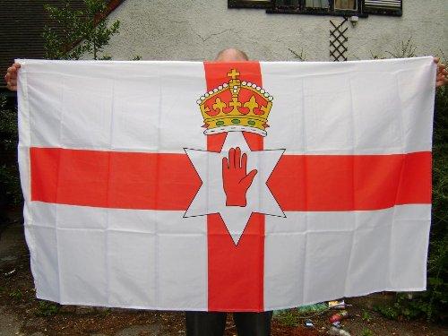 Noord-Ierland Ierse vlag 5x3 voet