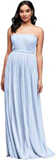 Long Mesh Style-Your-Way 6 Tie Bridesmaid Dress Style F19515