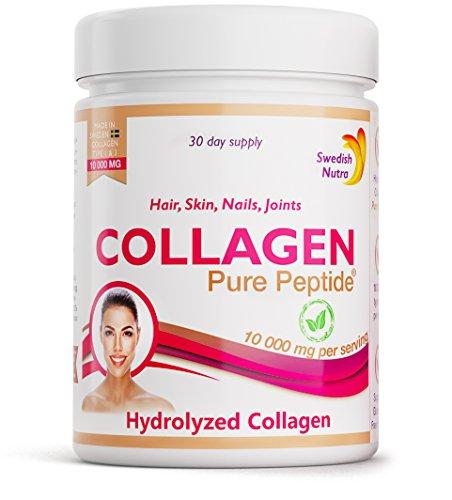 Collagen Pulver 10000 mg pro Dosis für Hair,Nails,Skin,Joints