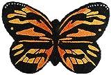 Esschert Design RB201 - Felpudo (Fibra de Coco, dise├▒o de Mariposa), Color Naranja y...