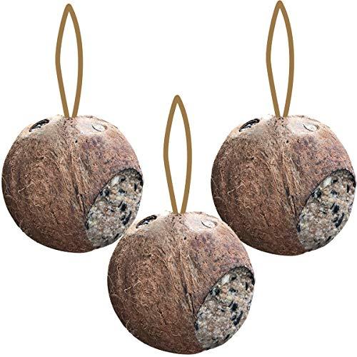 Schnauzerl Erdtmanns 3X Kokosnuss ganz mit Löchern
