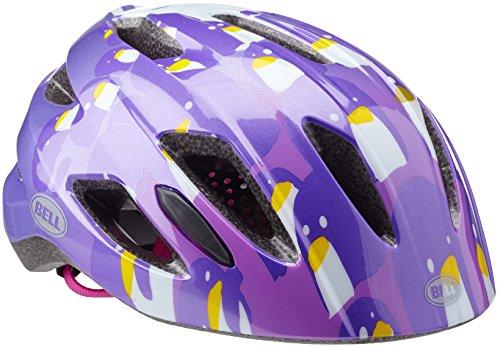 Bell Casque de fermeture Éclair pour fille, Fille, Zipper, - violet - 47-53 cm