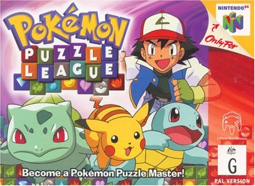 Pokemon puzzle league - Nintendo 64 - PAL