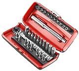 Facom  R.PEJ31PG - Coffret d'embouts de vissage - 31 outils