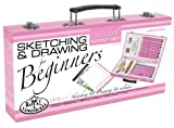 Royal & Langnickel Pink Art Beginner Artist Sketching and Drawing Wood Box Set, Sketch & Draw