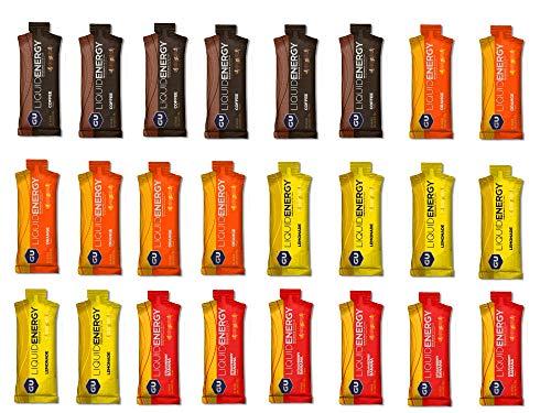 GU Liquid Energy Gel, 24 x 60 Gels, Mixed Box (4 Sorten a 6 Stück)