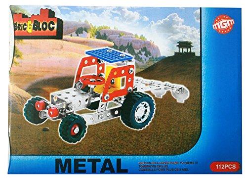 Boîte méca métal tracteur 112 pièces