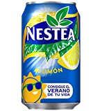 Nestea - Limon, Refresco de té sin gas, 330 ml (Pack de 12), Lata