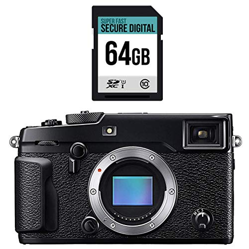FUJIFILM X-Pro2 Body mit High Speed 64 GB Speicherkarte Bundle