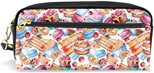 Federmäppchen Vintage Cakes Aroon Piece große Kapazität Pen Pencil Bag Pouch Schreibwaren Veranstalter