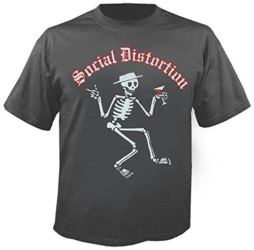 Social Distortion - Skelly Logo - T-Shirt Größe L