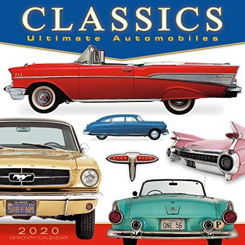 Classics: Ultimate Automobiles 2020 Wall Calendar