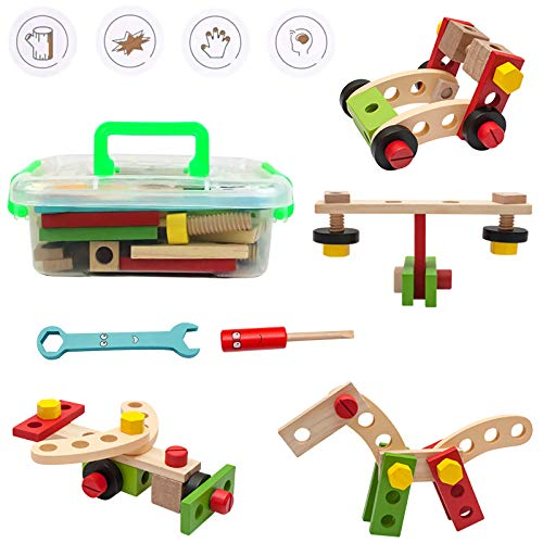 Children's Wooden Toy Toolbox