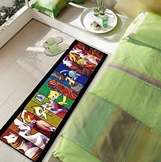 Carpet Personality Bedside Cushion Modern Fashion Restaurant Dormitory Non-Slip Rugs Cartoon Childrens Room Anime Transformers Bedroom Decoration 80Cm*120Cm