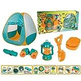 LYQZ Kleines Zelt mit Campingausrüstung Spielzeug-Werkzeug-Set for Kinder (Size : A) -