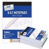 Just Stationery A7 Notizblock (8 Stück)