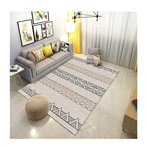 CAIM Scrubbable tapijten, salontafel, onderhoudsarm, mat, geschikt voor slaapkamer, nachtkastje, salontafel, woonkamer, garderobe