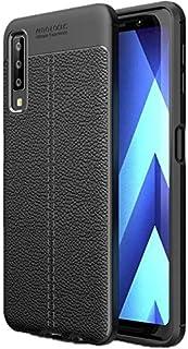 جراب ظهر اسود مرن لهاتف جلاكسى ايه 7 اصدار 2018 - Galaxy A7 2018
