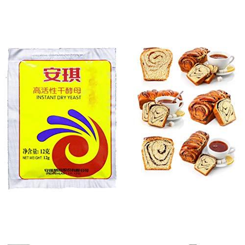 240 g lievito di pane attivo lievito secco forniture per pane ad alta tolleranza al glucosio (confezione da 20)