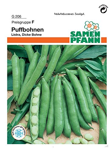 Puffbohne Listra | Puffbohnensamen von Samen Pfann