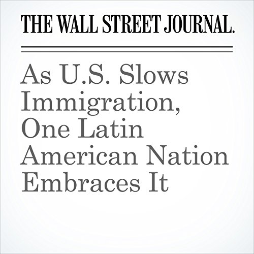 As U.S. Slows Immigration, One Latin American Nation Embraces It copertina
