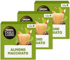 Nescafé Dolce Gusto capsules Almond Macchiato Vegan - 36 koffiecups - geschikt voor 36 koppen koffie - Dolce Gusto cups