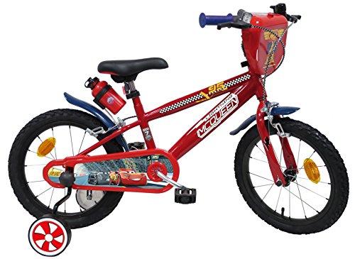 EDEN-BIKES - Bicicleta Infantil de 16 Pulgadas, diseño de Cars-2, Multicolor