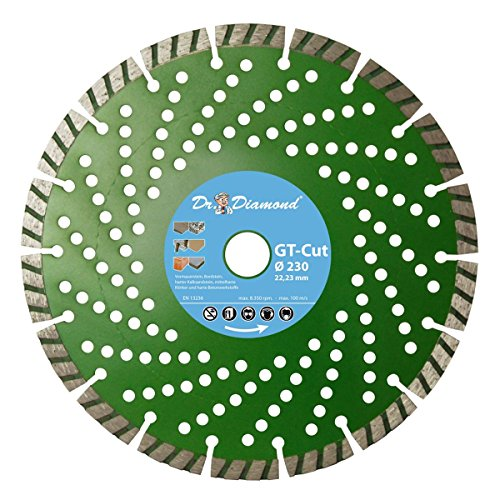 Diamant-Trennscheibe GT-Cut Ø 350 mm / 25,4 mm Bohrung für Beton, Universal, allgemeine Baustoffe, Ziegel, Waschbeton