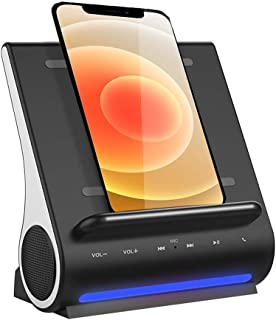Super Fast 15 Watts Wireless Charging Bluetooth Speakers Handsfree Mic 4 in 1 Hub for iPhone 12/12 Mini / 12 Pro/Samsung G...
