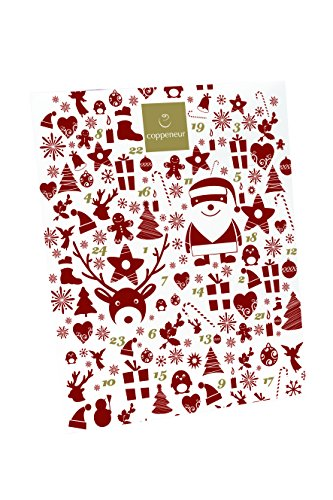 Coppeneur Adventskalender Mini Truffes, 1er Pack (1 x 144 g)