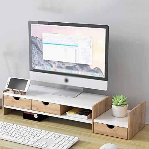 Soporte Monitor Stand Riser El soporte del monitor de pantalla vertical de...