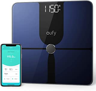 eufy by Anker, Smart Scale P1 with Bluetooth, Body Fat Scale, Wireless Digital Bathroom Scale, 14 Measurements, Weight/Bod...