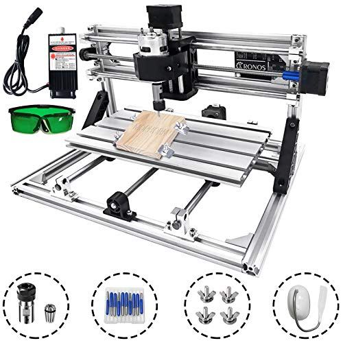 Techlifer 3018 cnc graviermaschine fräse 3 achse CNC Router Machine 500mw milling machine cnc 300X180X45Mm engraving machine kit