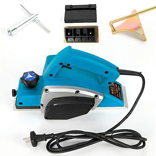 Cepillo eléctrico profesional de mano (82 mm, 800 W)