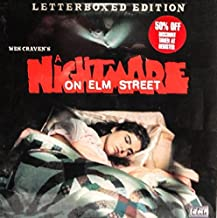 LASER DISC: Flyers, Nightmare on Elm Street, Letterbox Edition,