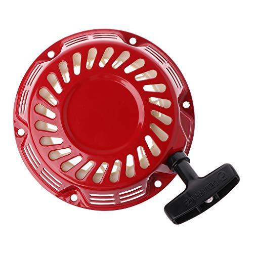Arrancador de retroceso de rebobinado paraGX160 GX200 5.5HP 6.5HP piezas de motor de cortadora de césped accesorios de césped para el hogar