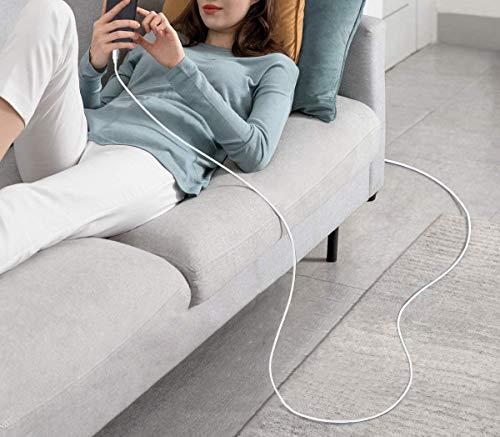 Micro USB Kabel 2M Ladekabel Android Nylon Handy Schnellladekabel Datenkabel für Samsung Galaxy S7 S6 S5 J7 J5 Note 5, Huawei, HTC, Sony,Tablets, Xiaomi, HTC, Motorola, Nokia, PS4