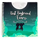Best Boyfriend Ever Memory Book. The Best Romantic Anniversary Gift Idea for Your Boyfriend. Your BF...